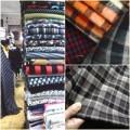 Thời trang - Khảo giá vải kẻ may váy diện Tết