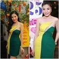 Làng sao - Kiwi Ngô Mai Trang mặc lại váy cũ đi tiệc