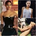 Thời trang - 'Buông' ngực nghệ thuật như Angelina Jolie