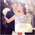 Làng sao - Lộ thiệp cưới của Ngọc Quyên và chồng bác sĩ