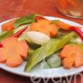 Bếp Eva - Dưa chuột bao tử muối chua chống ngán