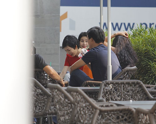 "xuan lan noi bat khi di cafe ""sang chanh"" - 3"