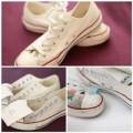 Thời trang - Mẹo 'giặt' giày Converse đúng cách