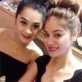 Làng sao - Lâm Chi Khanh đọ sắc cùng em gái