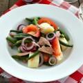Bếp Eva - Salad cá ngừ tươi ngon chống ngán