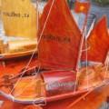 Tin tức - Độc đáo mô hình thuyền câu hùng binh Hoàng Sa