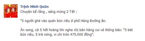 """mung 2 tet, minh quan an bun rieu bi """"chat chem"""" gan 500 ngan - 1"""