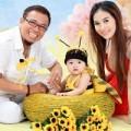 Làng sao - Ngắm vợ trẻ con xinh của NS hài Hồng Tơ
