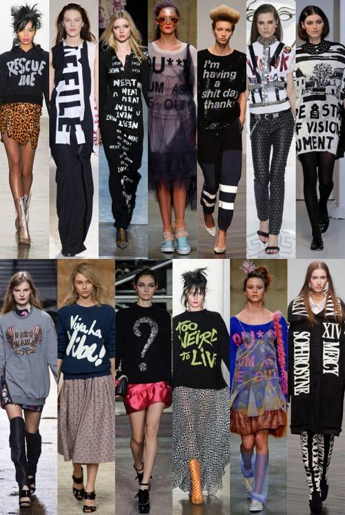 Con sốt thời trang khẩu hiệu mùa Xuân/Hè 2014 - 6