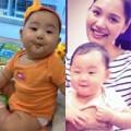Làng sao - Lộ ảnh con gái Hoa hậu Hương Giang
