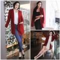 Thời trang - Diện áo khoác đỏ 'lấy may' đầu năm