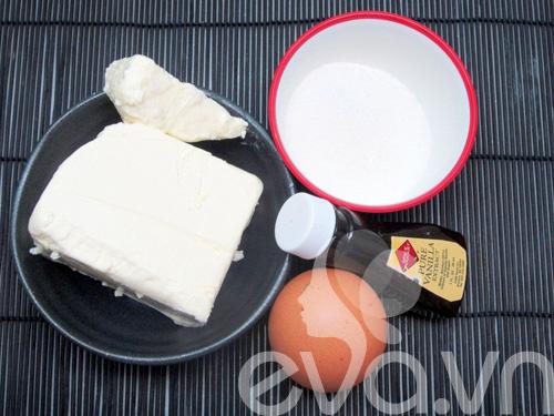 banh creamcheese brownies: vung cung lam duoc! - 1