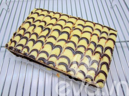 banh creamcheese brownies: vung cung lam duoc! - 15