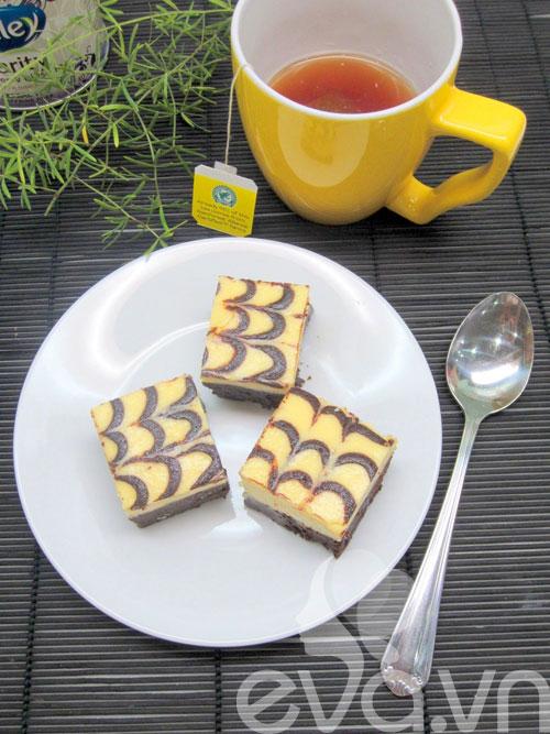 banh creamcheese brownies: vung cung lam duoc! - 17