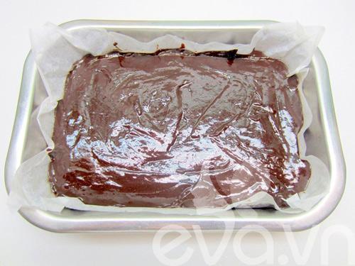 banh creamcheese brownies: vung cung lam duoc! - 10