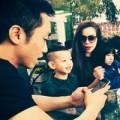 Làng sao - Trọn hình ảnh gia đình Hà Hồ vui chơi tại HN