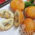 Bếp Eva - Bánh bao chiên nóng hổi bữa sáng