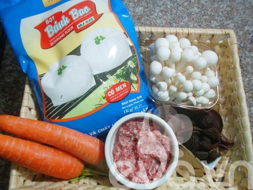 Bánh bao nhân nấm ngon cho bữa sáng-1