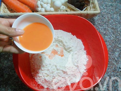 Bánh bao nhân nấm ngon cho bữa sáng-4