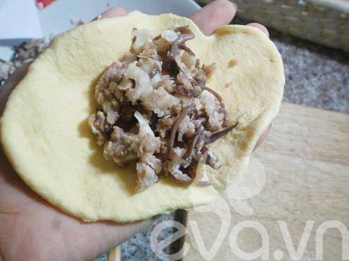 Bánh bao nhân nấm ngon cho bữa sáng-8