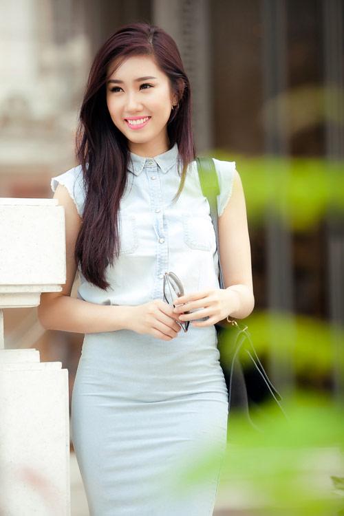 "le huynh thuy ngan quyet tam ""lam moi"" ban than - 1"