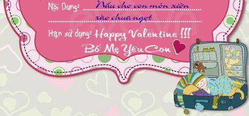"""hoc lom qua valentine """"doc"""" cua me nam - 6"""