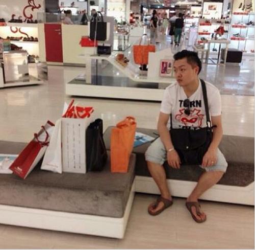 """""""do khoc do cuoi"""" canh dan ong cho vo shopping - 12"""