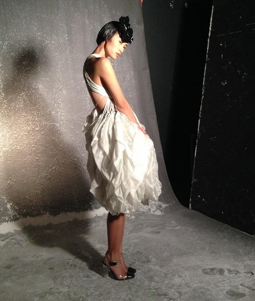 trang khieu tang toc truoc them london fashion week - 11