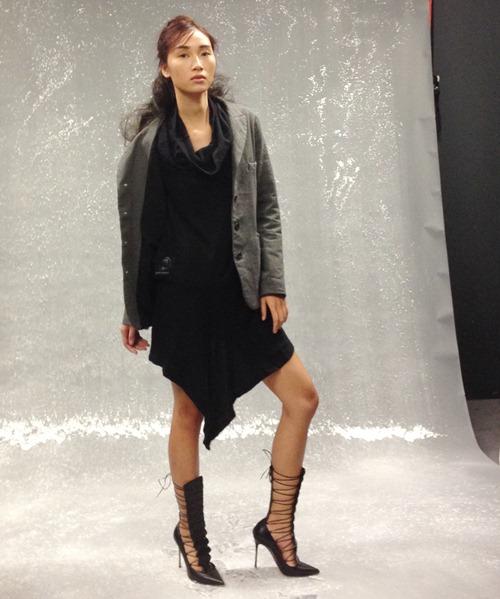 trang khieu tang toc truoc them london fashion week - 8