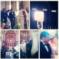 Làng sao - Đám cưới Ngô Quỳnh Anh lung linh nơi lễ đường