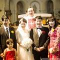 """Làng sao - Toàn cảnh đám cưới của """"Mắt ngọc"""" Ngô Quỳnh Anh"""