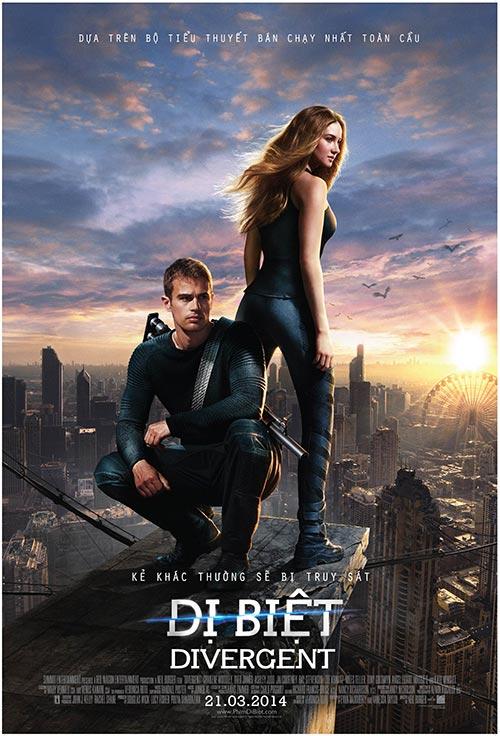 "divergent - ""di biet"" tung loat poster man nhan - 1"