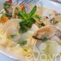 Bếp Eva - Canh ngao nấu măng chua nóng hổi