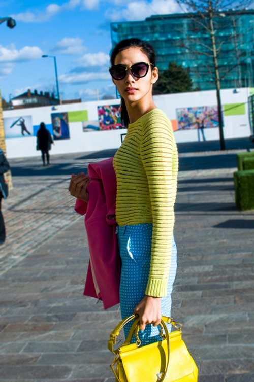 hoang thuy dien colorblock dao choi london - 8