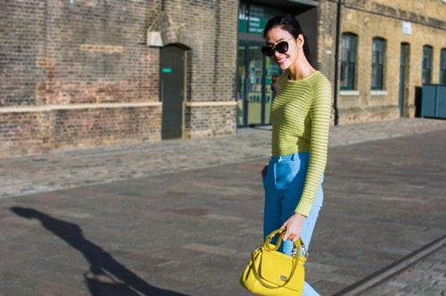 hoang thuy dien colorblock dao choi london - 9