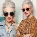 Thời trang - Xuýt xoa phong cách ngọt ngào của quý bà U70