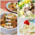 Bếp Eva - Thực đơn: Giò kho trứng, canh khoai sọ