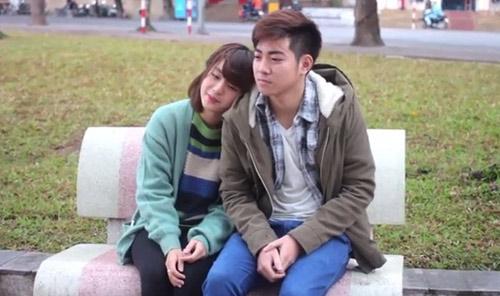 Clip tình yêu chàng trai đưa báo và cô gái mù-2
