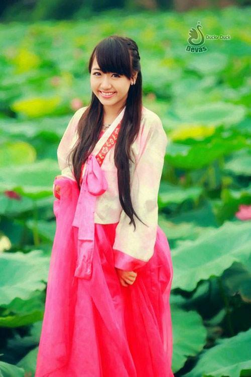 Thiếu nữ Việt xinh tươi sườn xám, hanbok-3
