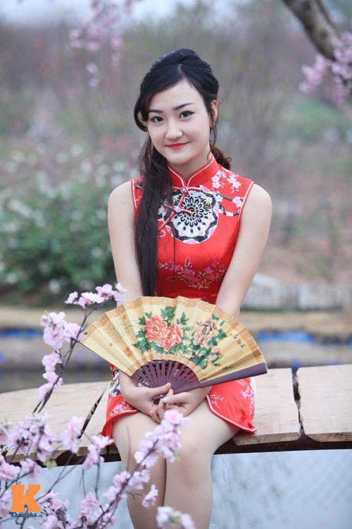 Thiếu nữ Việt xinh tươi sườn xám, hanbok-14