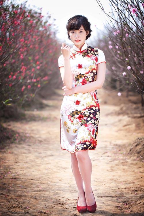 Thiếu nữ Việt xinh tươi sườn xám, hanbok-13