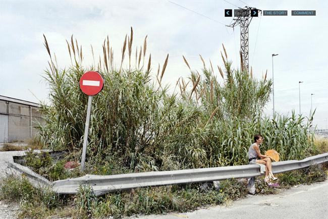 Ảnh hiếm thấy của gái đứng đường ở Tây Ban Nha