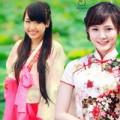 Thời trang - Thiếu nữ Việt xinh tươi sườn xám, hanbok