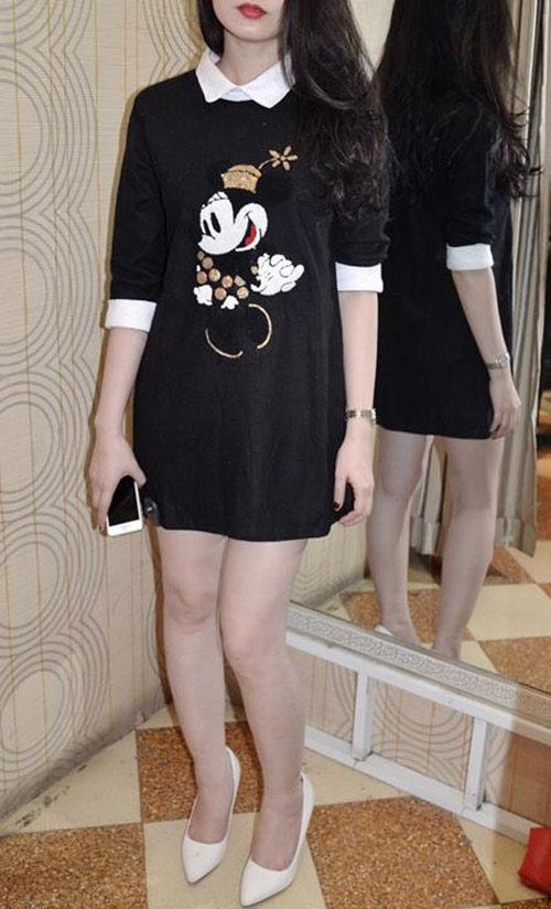 Chị em lùng sục áo thun Mickey-19