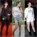 Thời trang - Bắt lỗi  thời trang lộ chân quá khổ của Khả Ngân