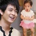Làng sao - Lâm Chí Dĩnh khoe ảnh con trai mặc váy