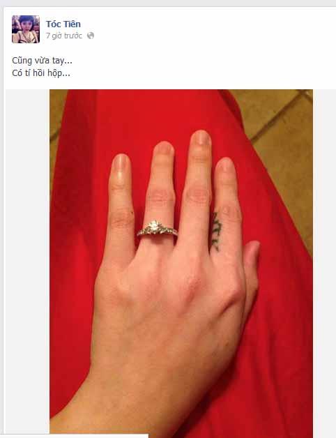 Fan chúc mừng Tóc Tiên sắp... lấy chồng! - 1