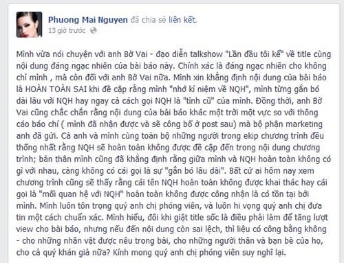 Phương Mai không muốn nhắc đến Ngô Quang Hải-3