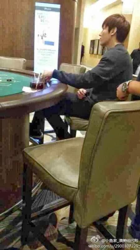 Lộ ảnh Lee Min Ho đánh bài tại sòng bạc - 1