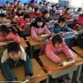 Tin tức - TQ: Trường học lắp khung thép chống cận thị cho HS
